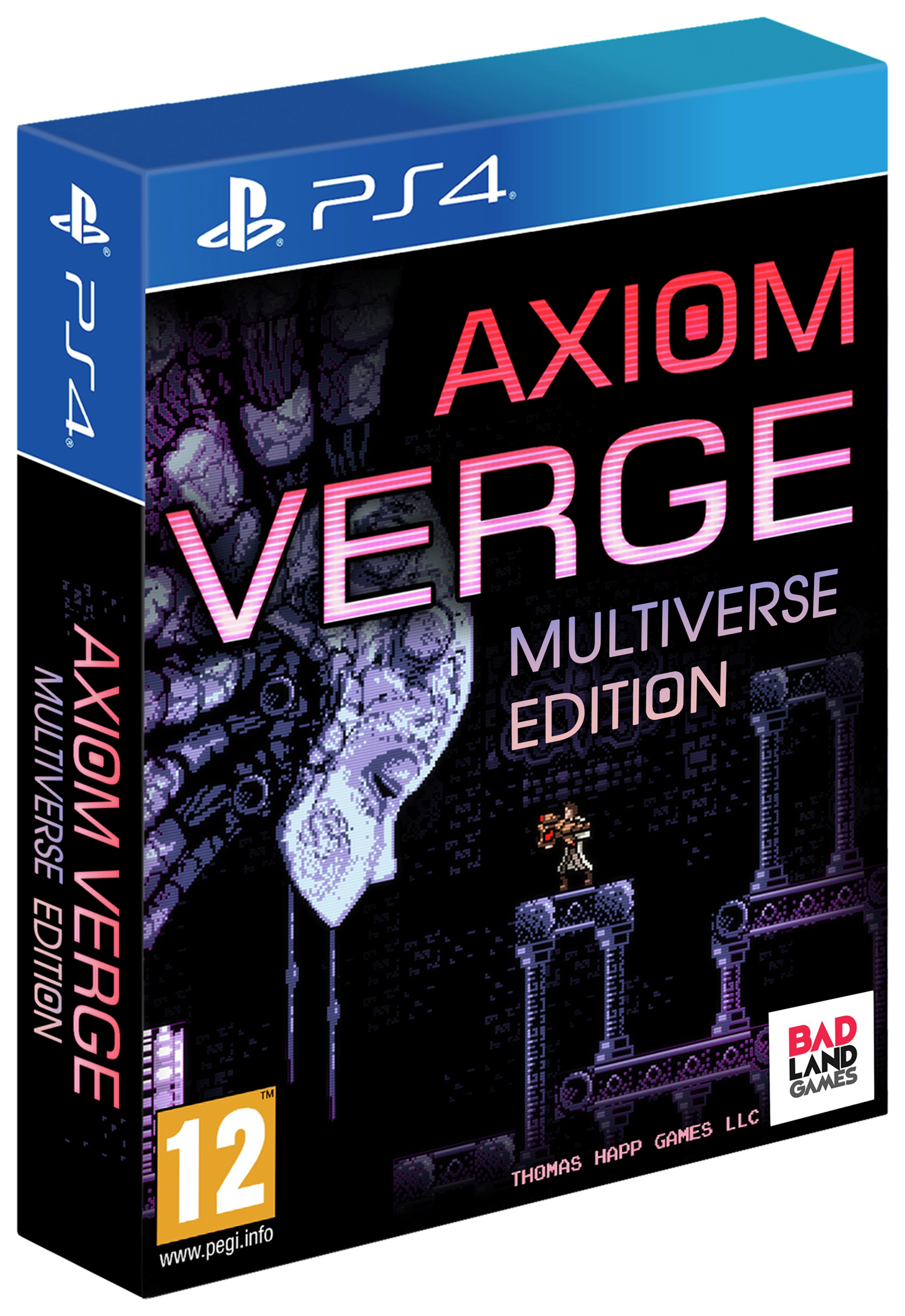 Image of Axiom Verge: Multiverse Edition PS4 Pre-Order Game