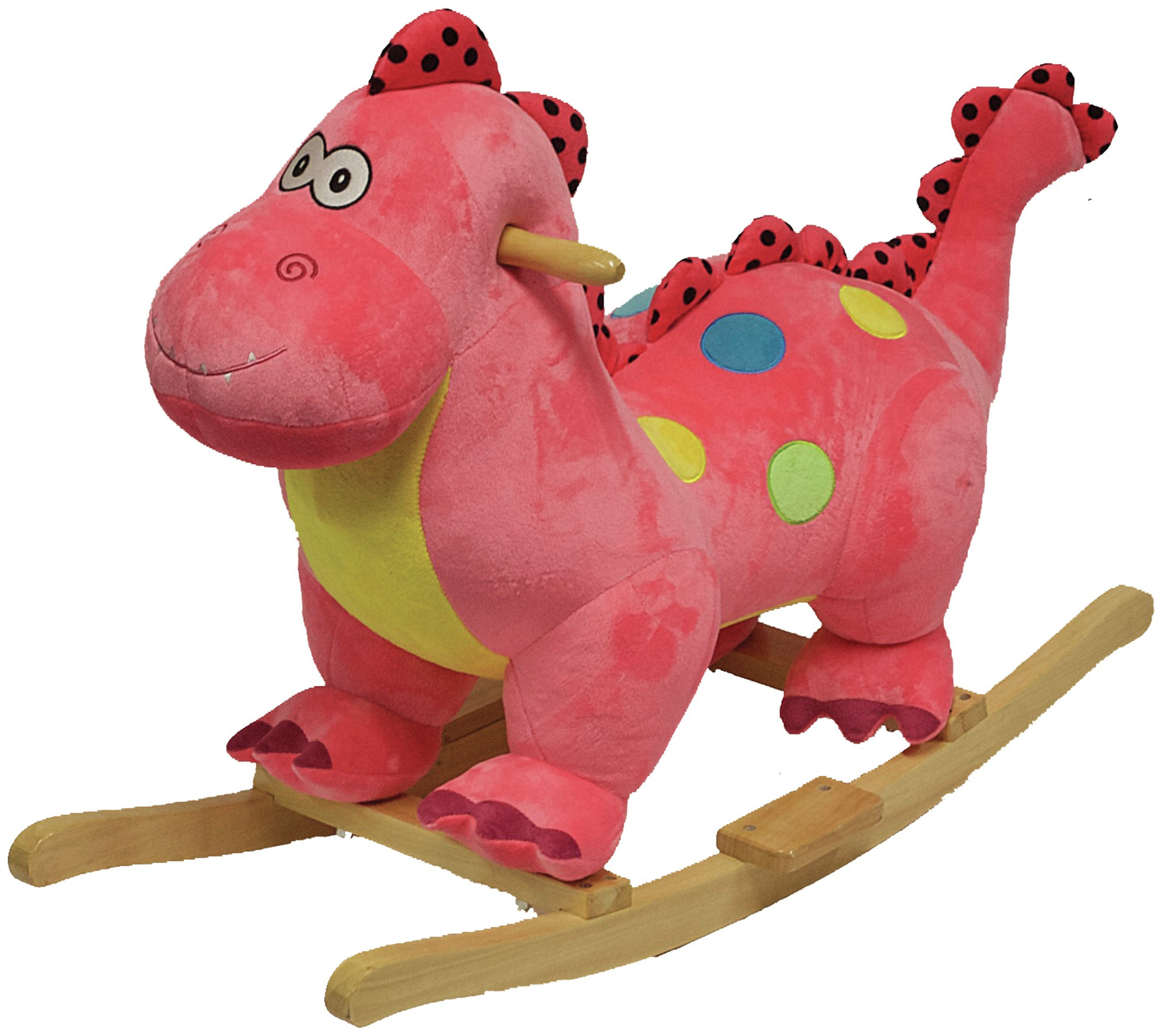 Image of Pink Rocking Dinosaur