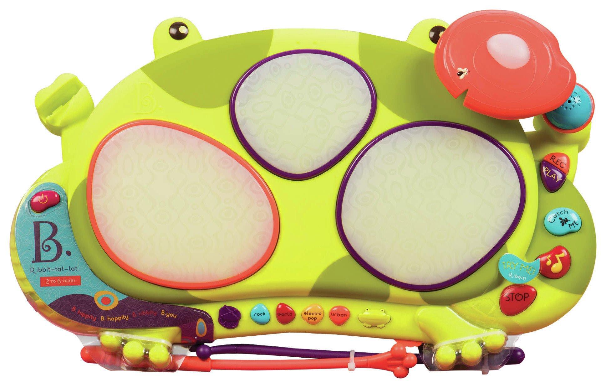 Image of B Ribbit-Tit-Tat Musical Toy.