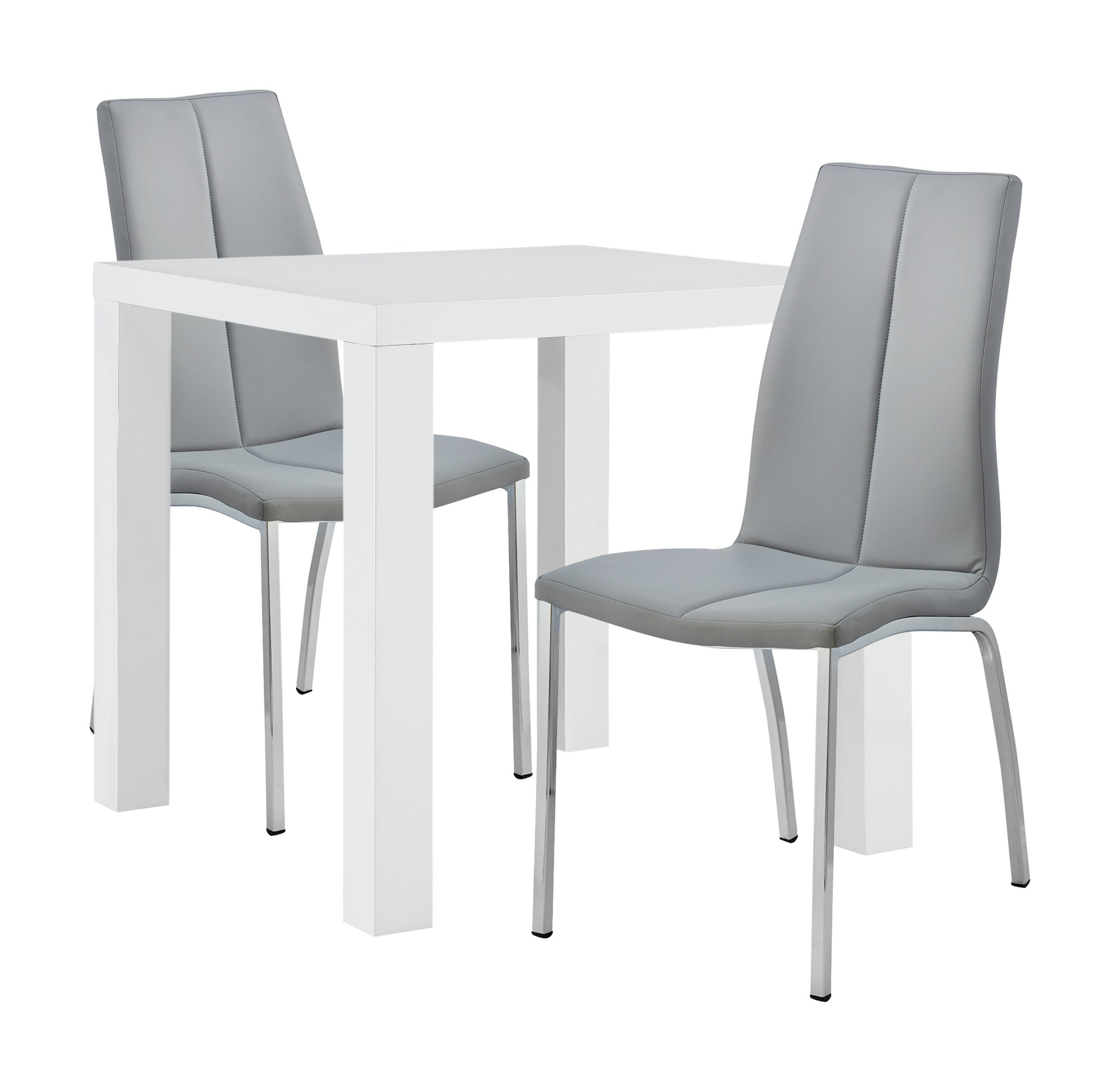 Review Of Hygena Lyssa Dining Table Amp 2 Milo Chairs