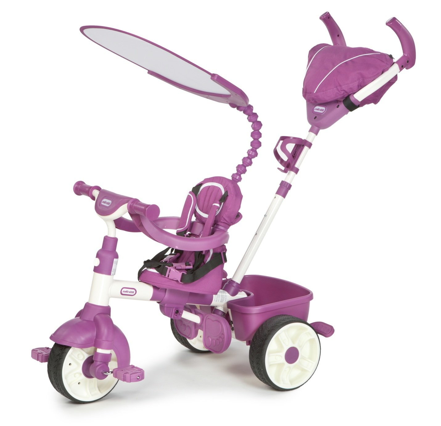Image of Little Tikes 4-in-1 Sports Edition Trike - Pink/ White