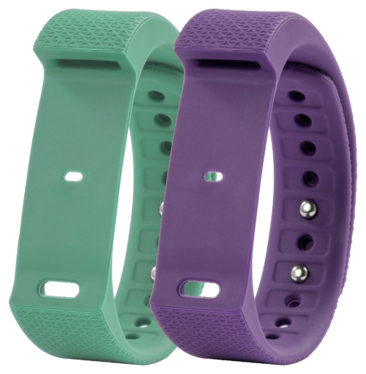Nuband i-Touch Plum & Mint Green Replacement Band - Twinpack