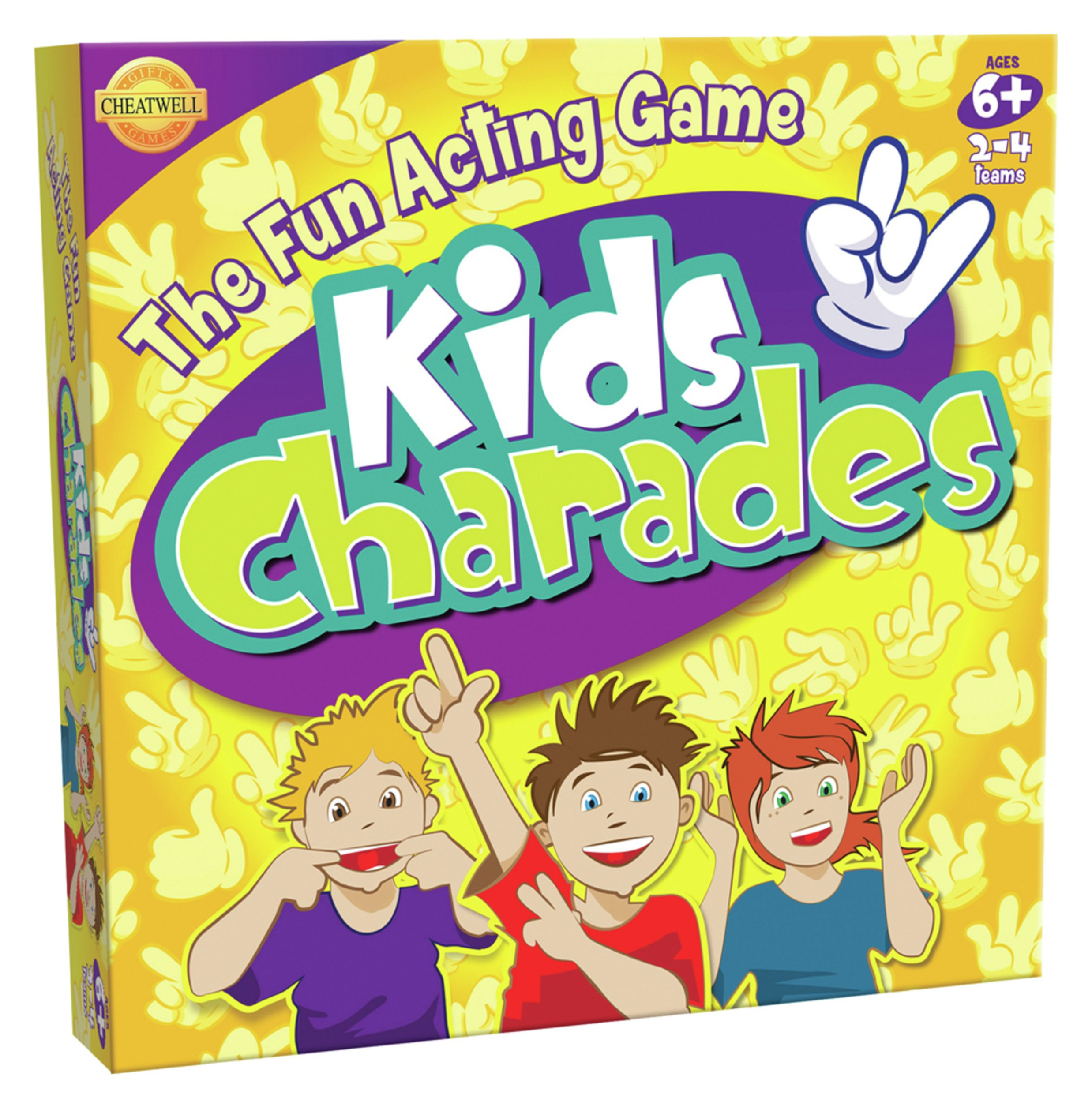 Image of Cheatwell Games Kids Charades Game