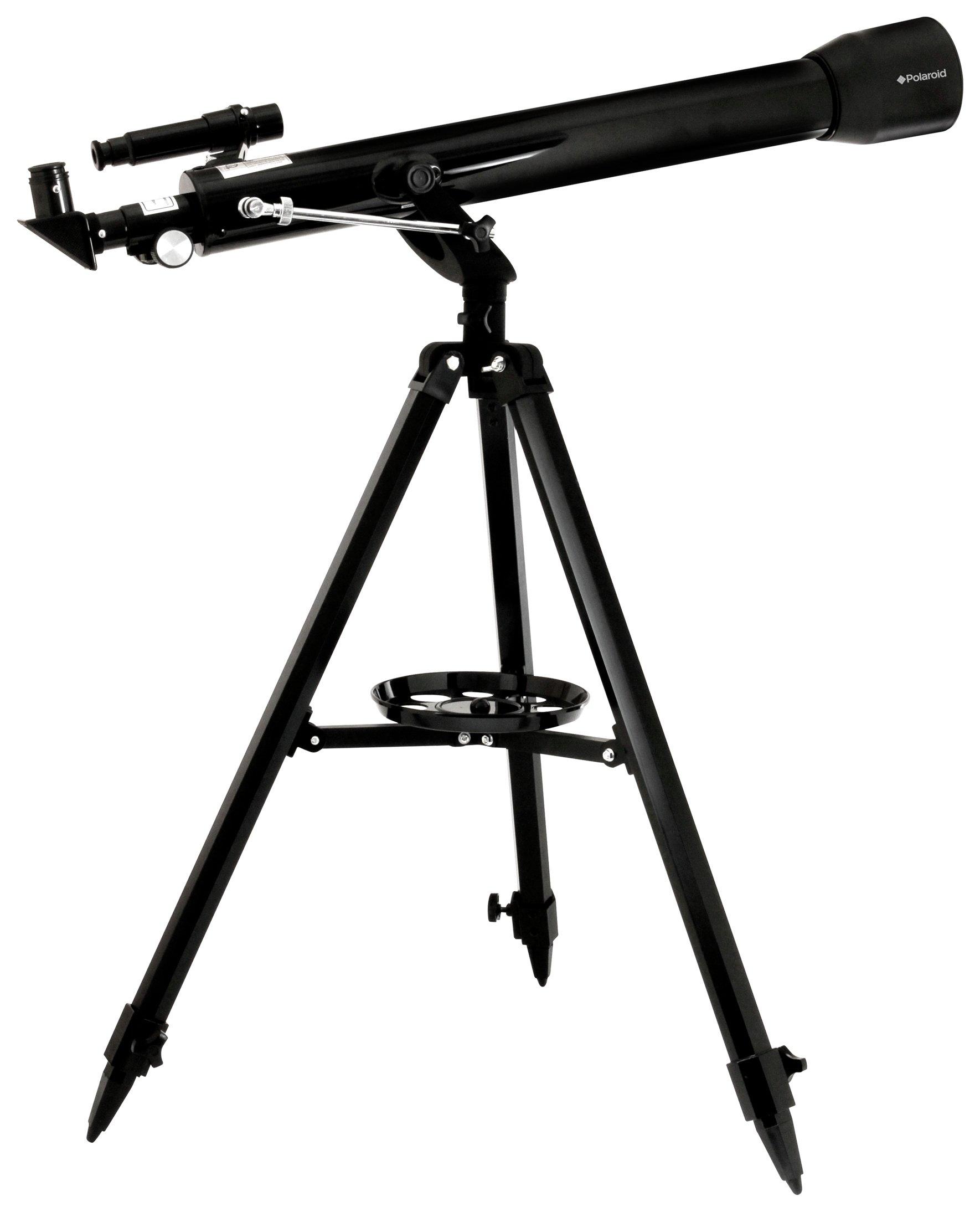 Polaroid IB52RFR Refractor Telescope - Black