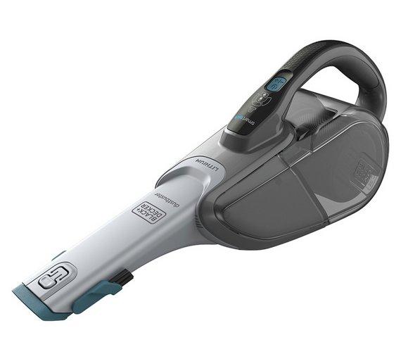 Black Decker Premium Handheld Vacuum Cleaner DVJ325BF GB