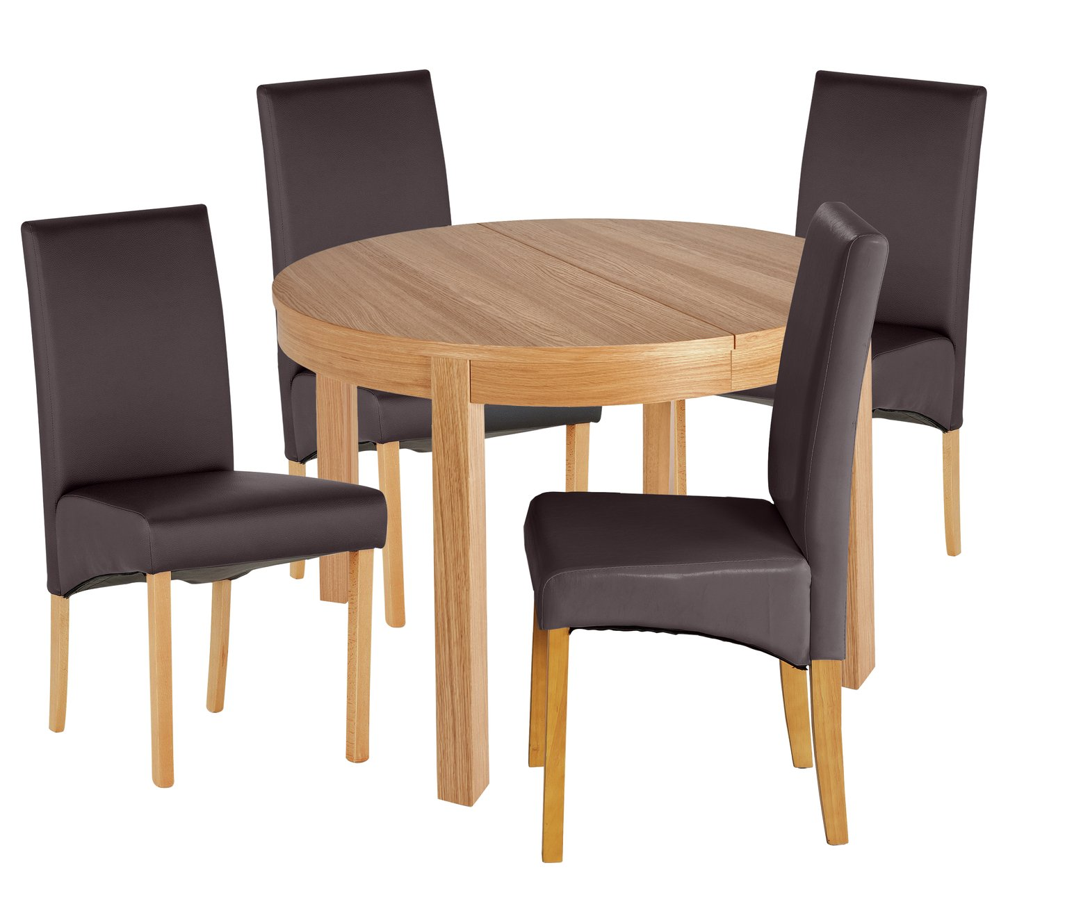 Collection Clifton Extendable Table Amp 4 Chairs Charcoal