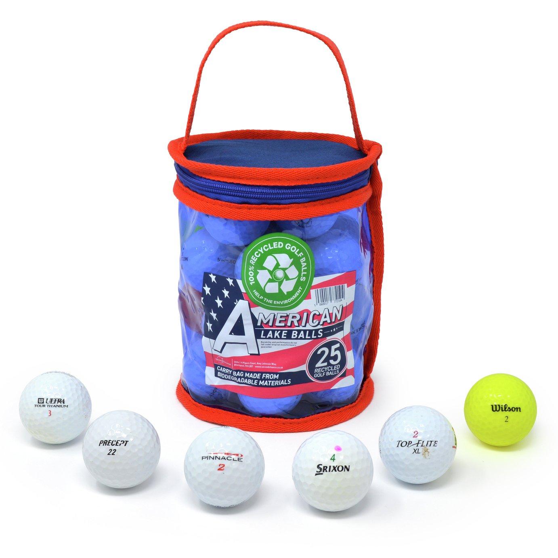 Lake Golf Balls Refurbished - 25 Pack