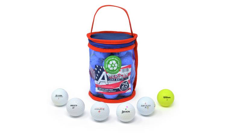 Lake Refurbished Golf Balls - Pack of 25