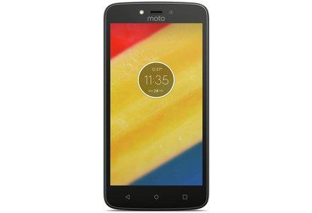 Sim Free Moto C Plus Mobile Phone - Black