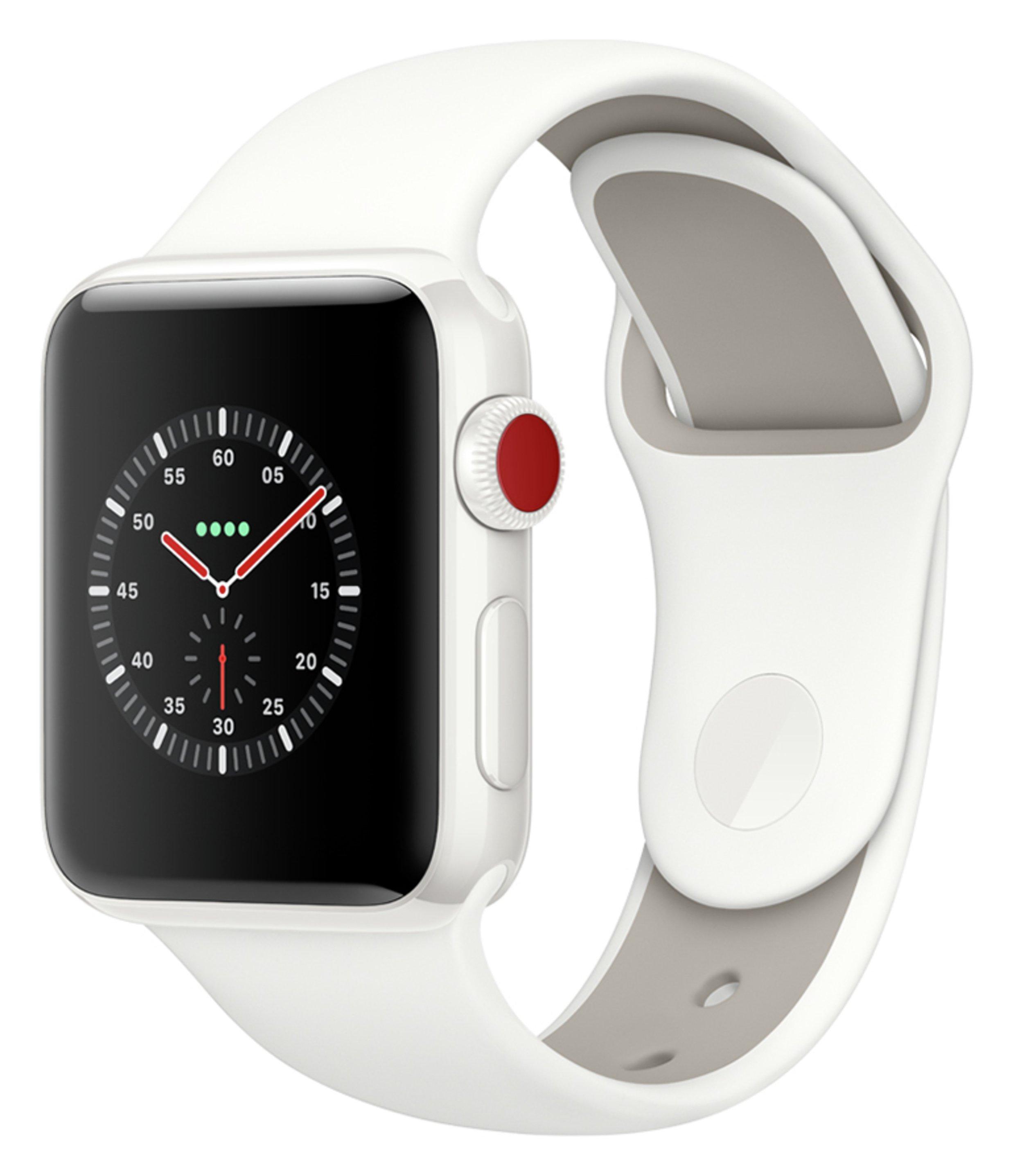 Apple Apple Watch S3 Edition Cellular 38mm - White Ceramic