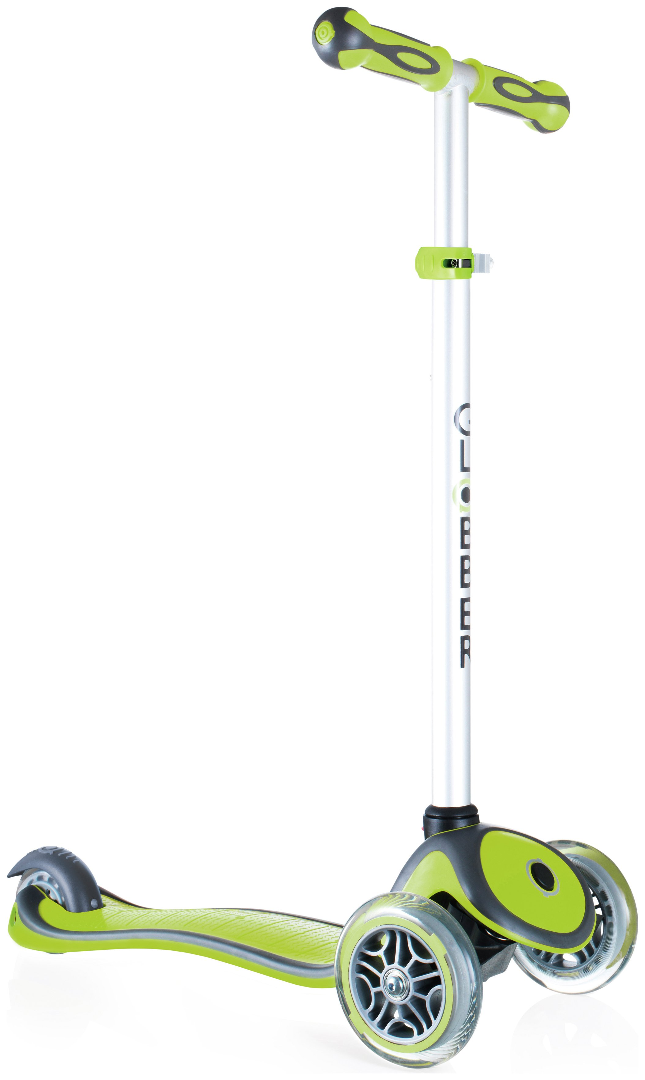 Globber Primo Plus 3 Wheel Scooter - Lime Green