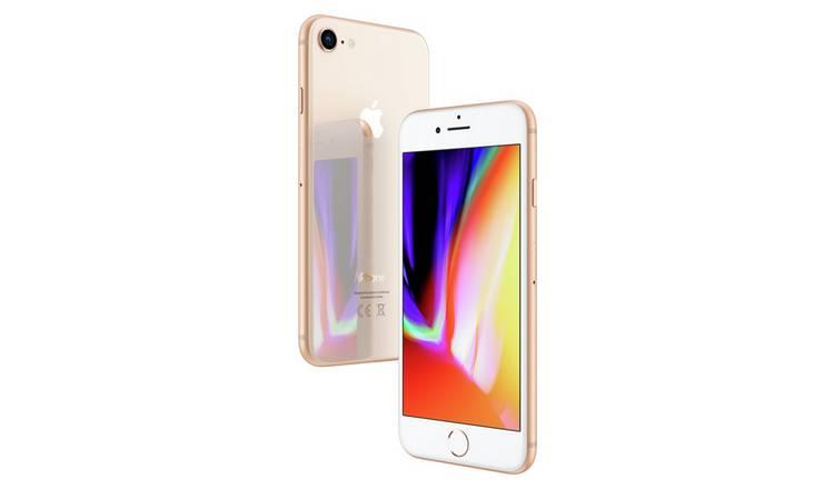 Buy SIM Free iPhone 8 64GB Mobile Phone - Gold | SIM free phones | Argos