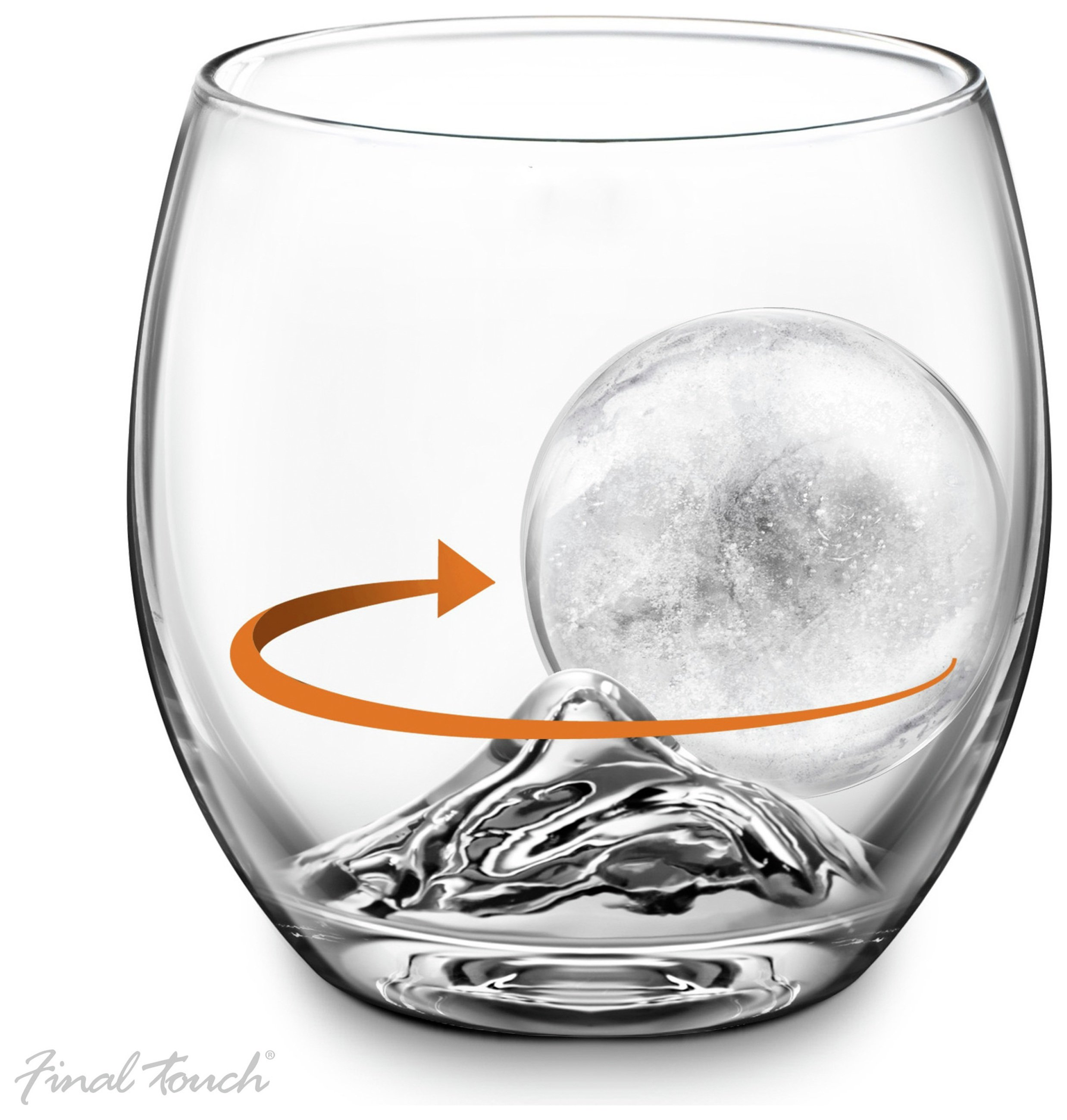 Image of Final Touch On The Rocks Glass