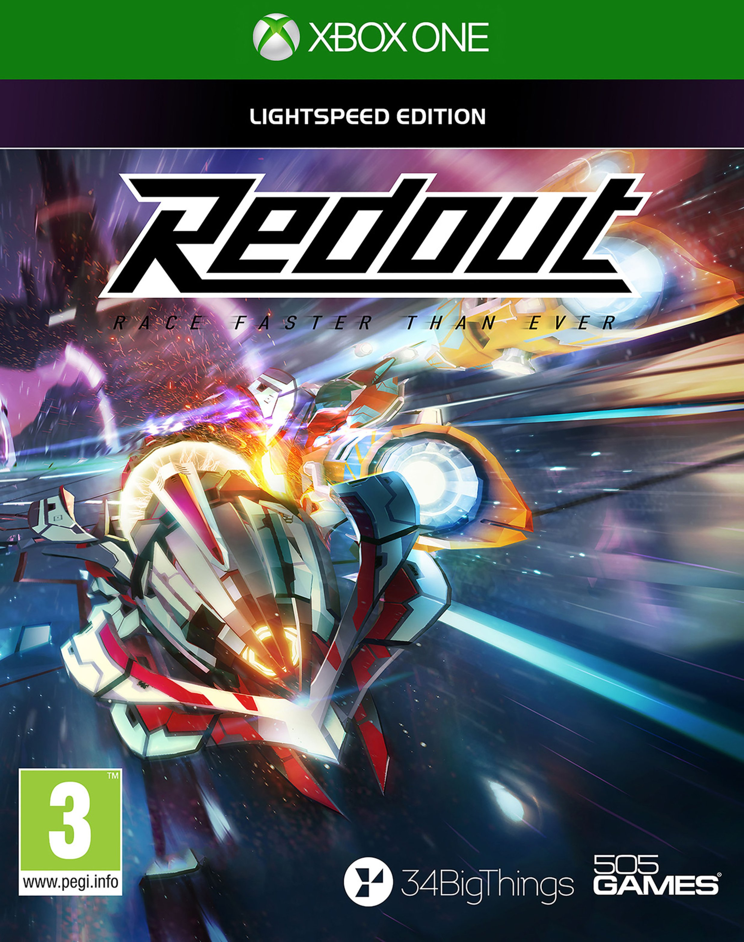 Redout: Lightspeed Edition Xbox One Game