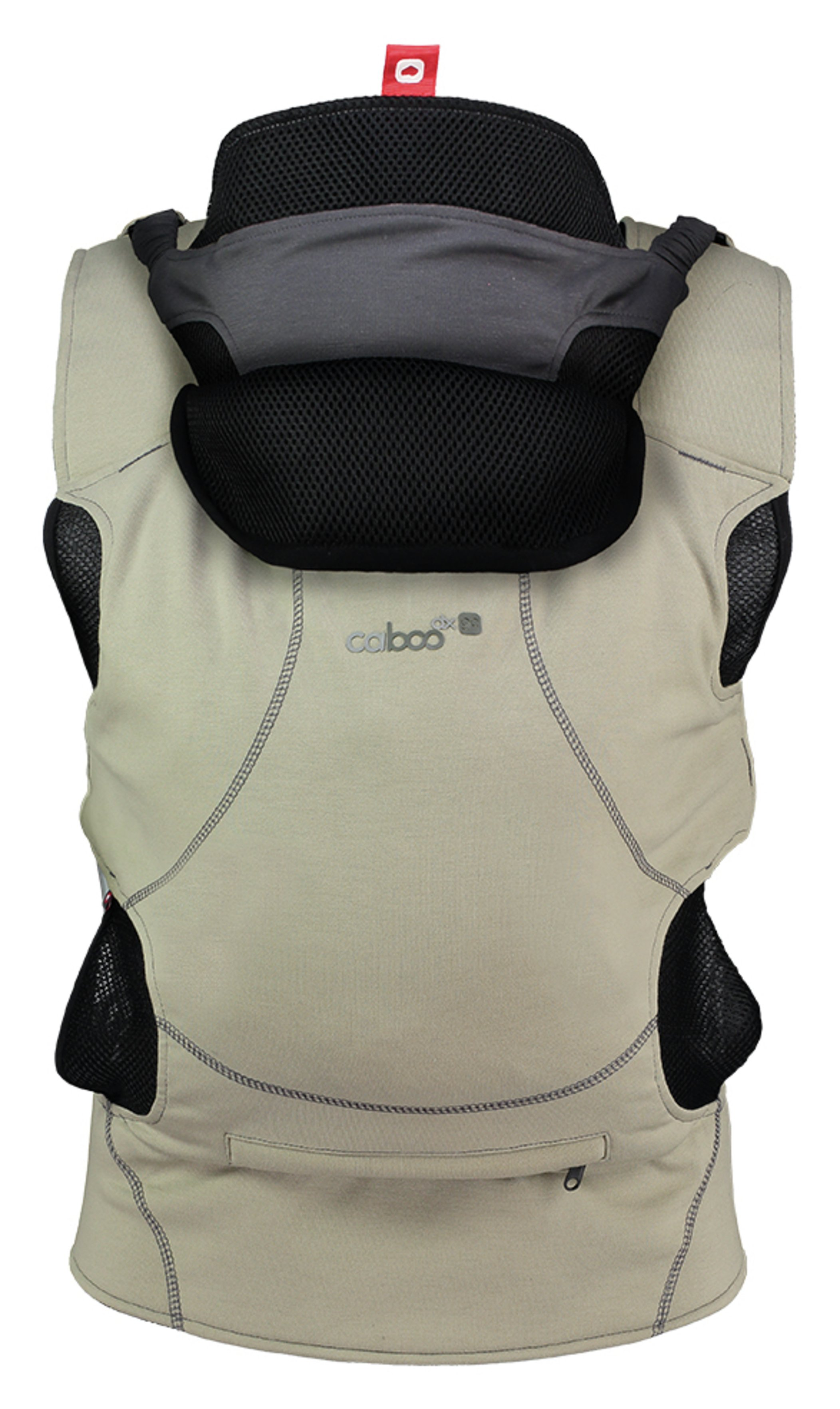 Image of Caboo DXGO Baby Carrier - Khaki
