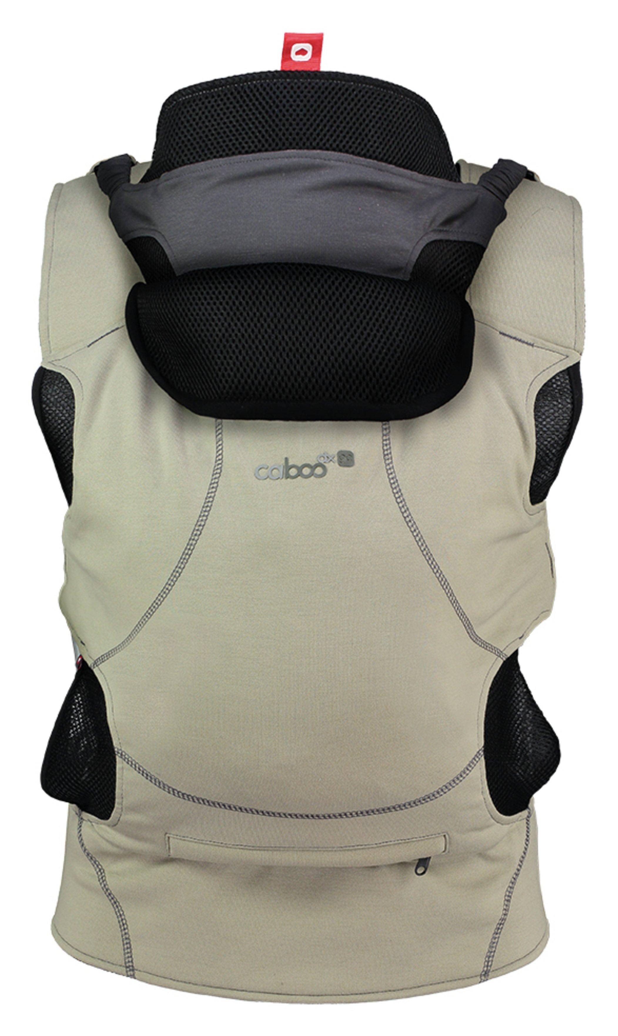 Caboo DXGO Baby Carrier - Khaki