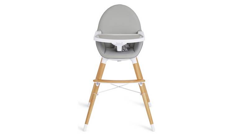 Buy Koo di Duo Wooden High Chair Grey | Highchairs | Argos
