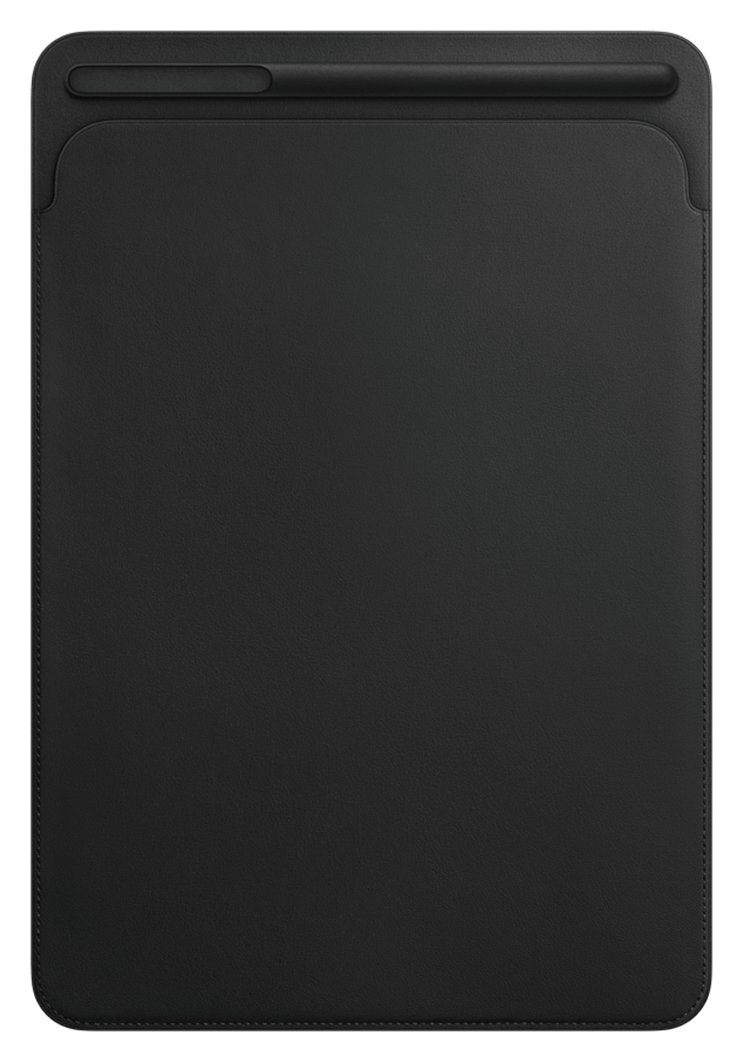 Image of Apple 10.5 Inch iPad Pro Leather Sleeve - Black