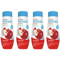 SodaStream Fruits Red Apple Flavour 4 Pack
