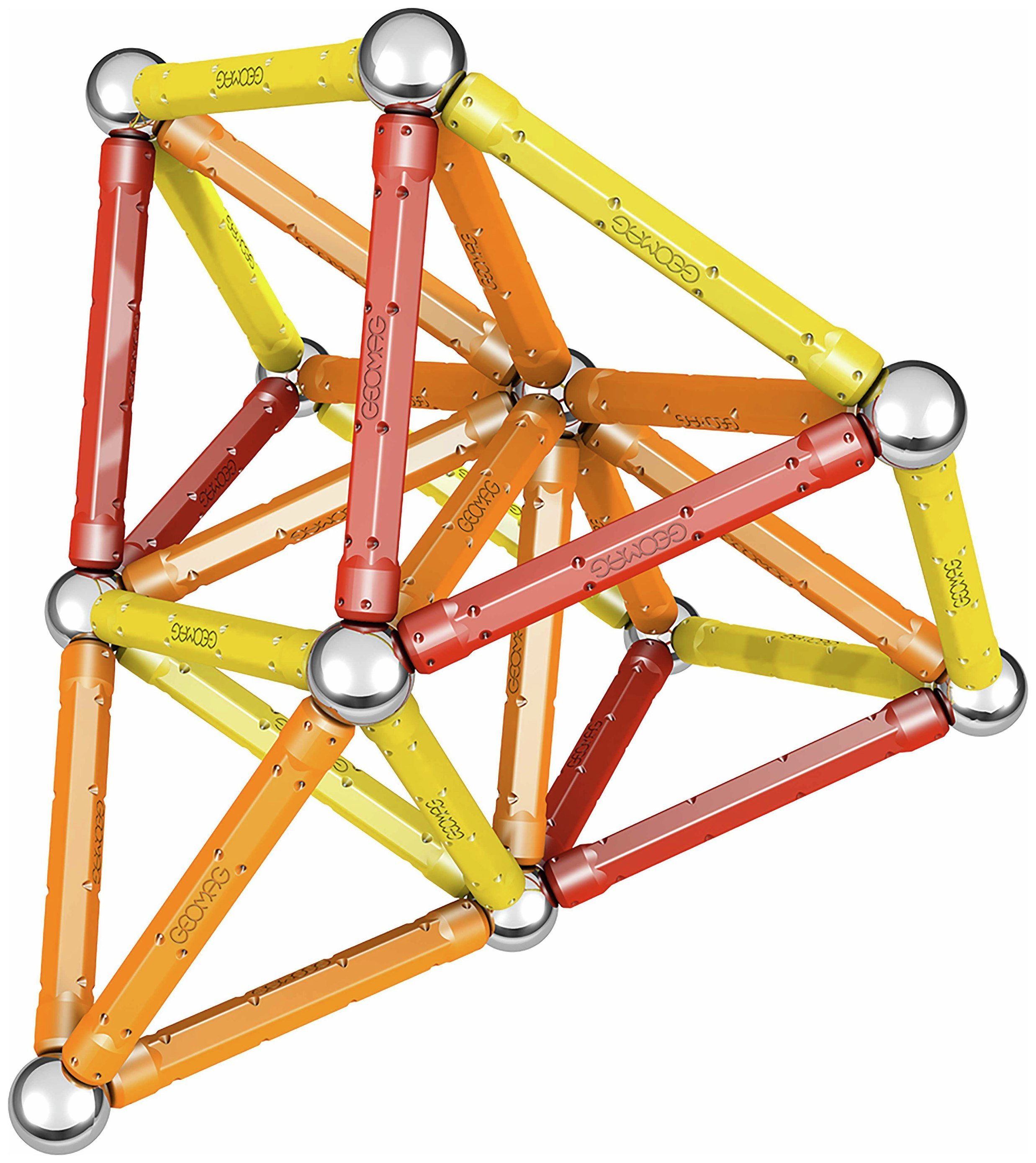 Image of Geomag Colour 64 Magnetic Construction System.