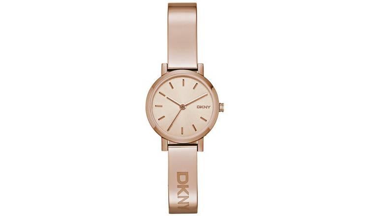 bbf127f7ead Buy DKNY Ladies  Soho NY2308 Rose Gold Plated Bangle Watch ...