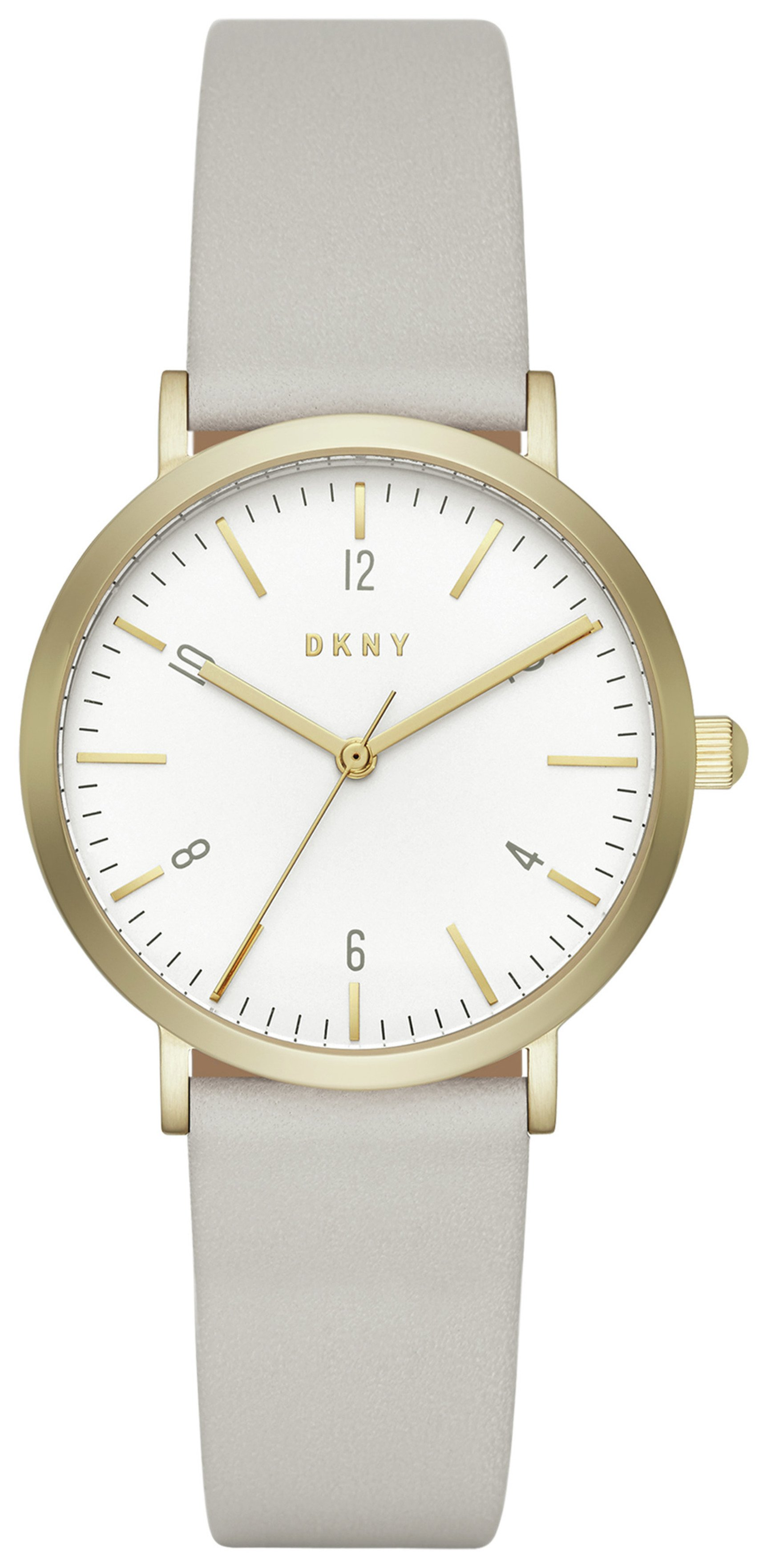 Image of DKNY Ladies' Minetta NY2507 Leather Strap Watch