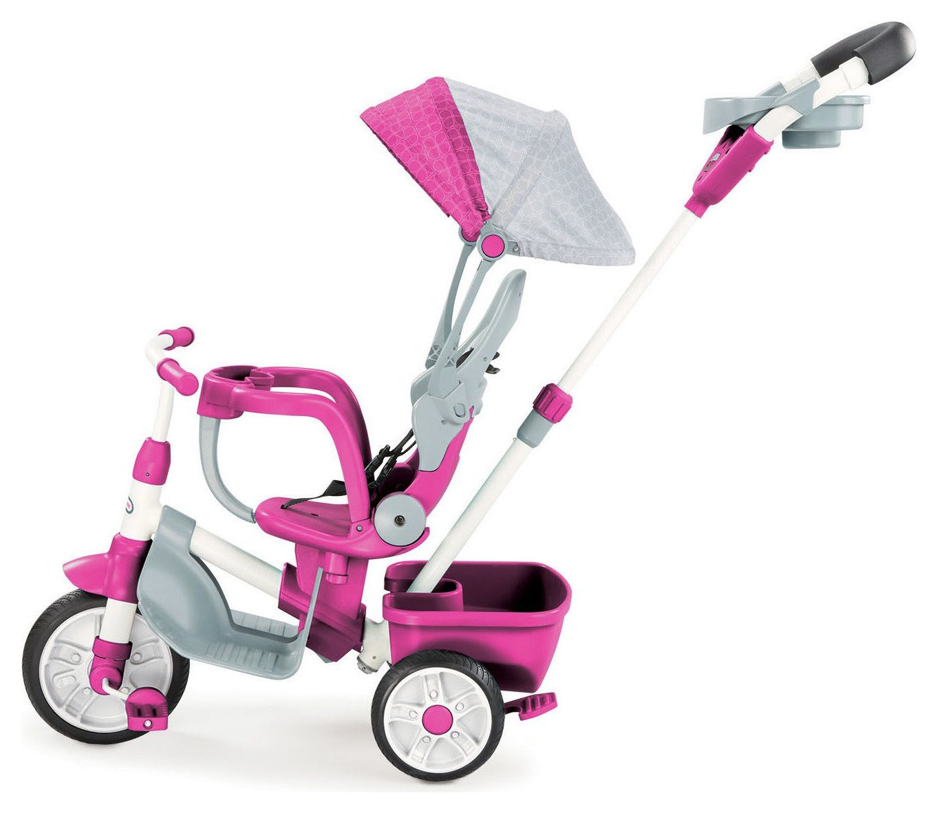 Little Tikes 4 In 1 Perfect Fit Trike   Pink