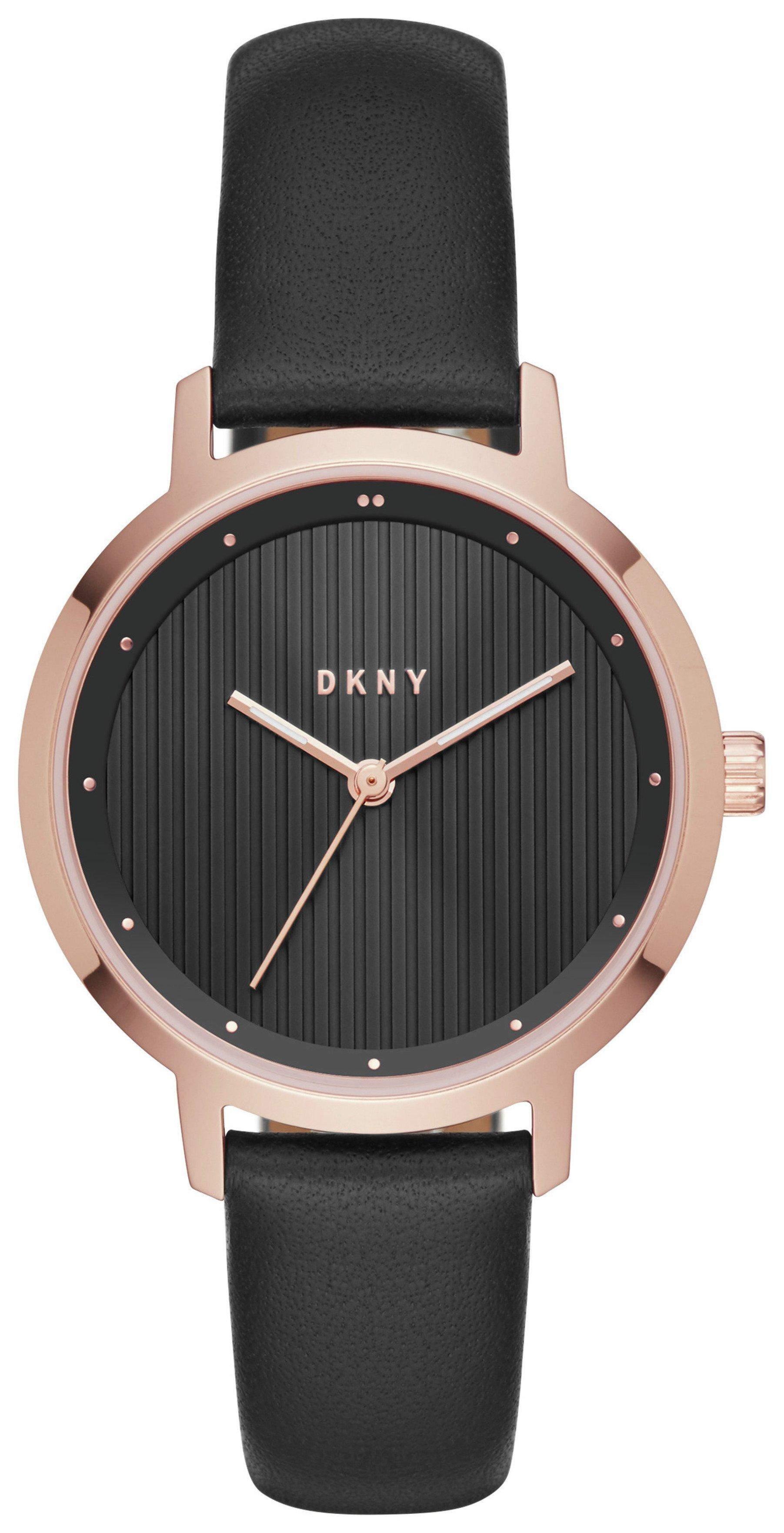 Strap Watch Black Dkny Ladies' The Modernist Ny2641 0nkwO8PX