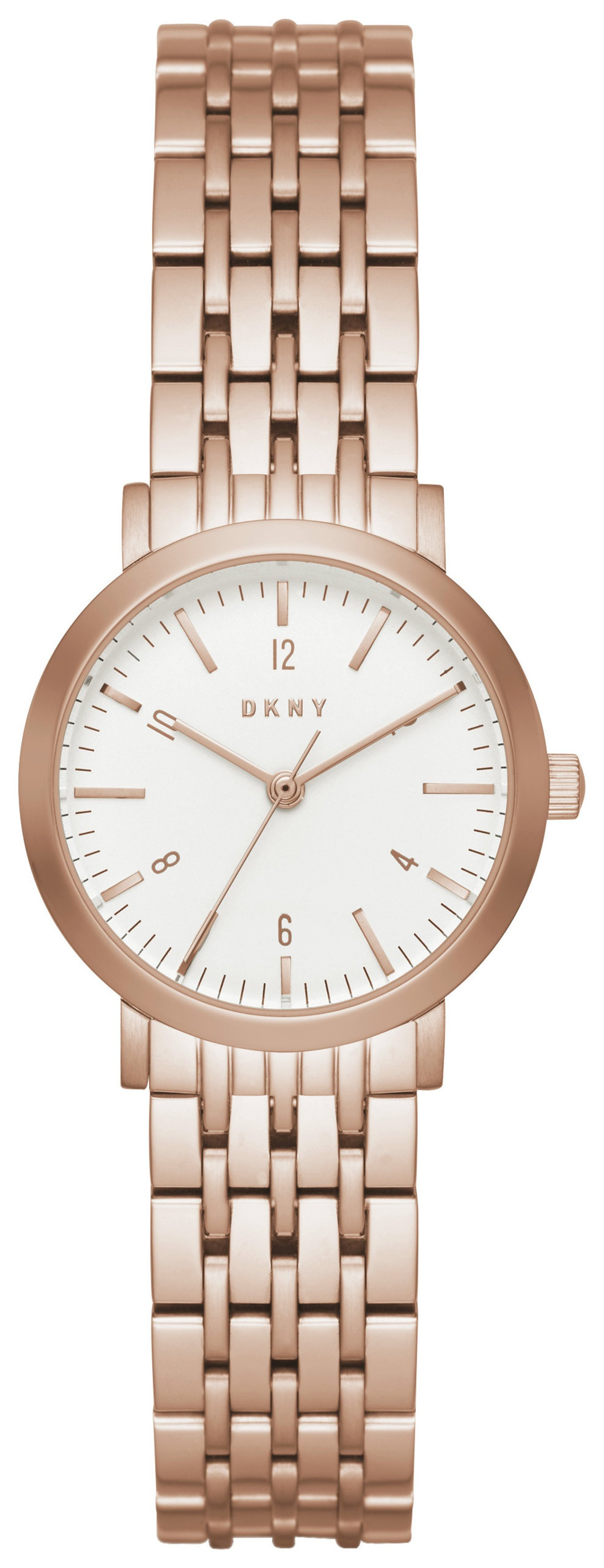 Image of DKNY Ladies' Minetta NY2511 Rose Tone Bracelet Watch