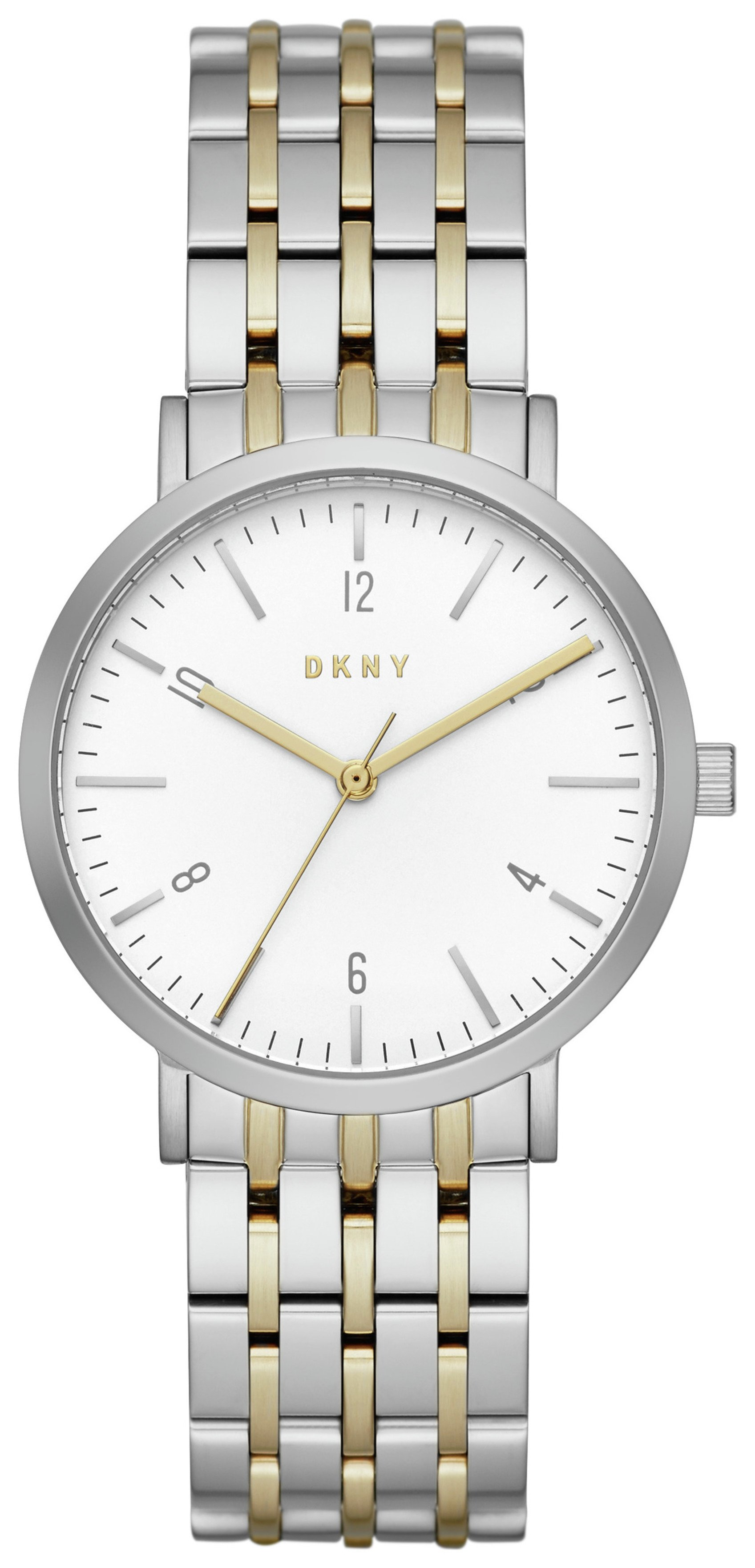 Image of DKNY Ladies' Minetta NY2505 Rose Two Tone Watch