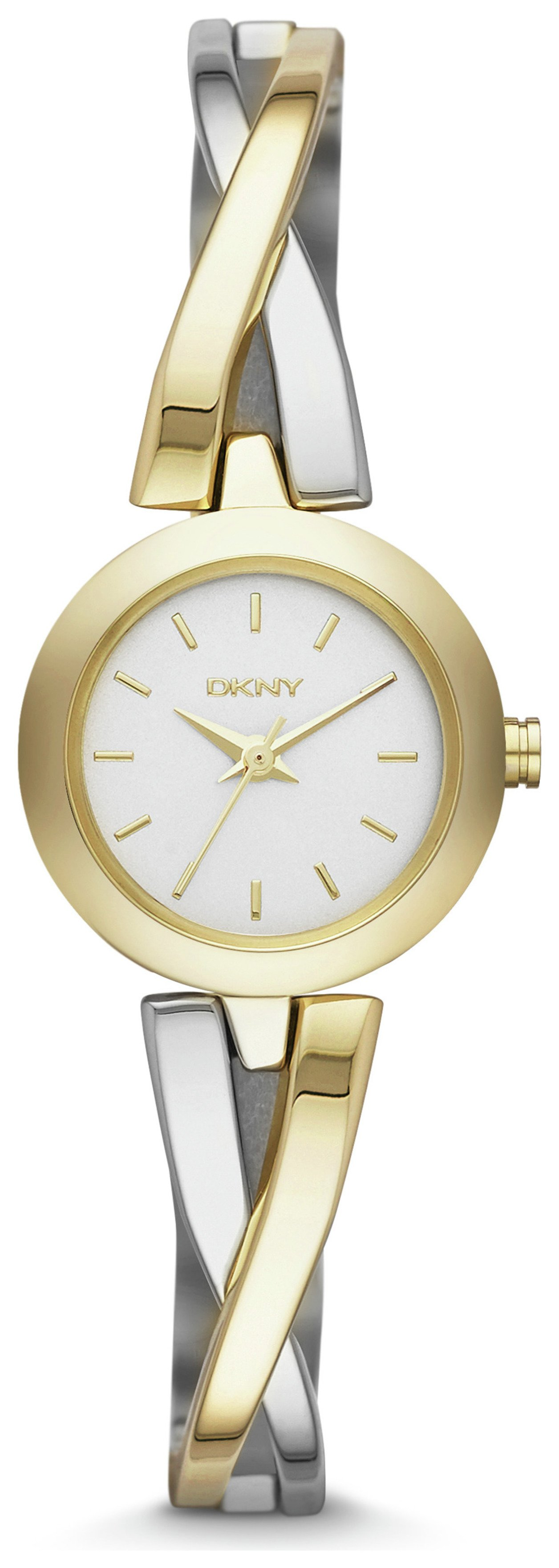 Image of DKNY Ladies' Crosswalk NY2171 Two Tone Watch
