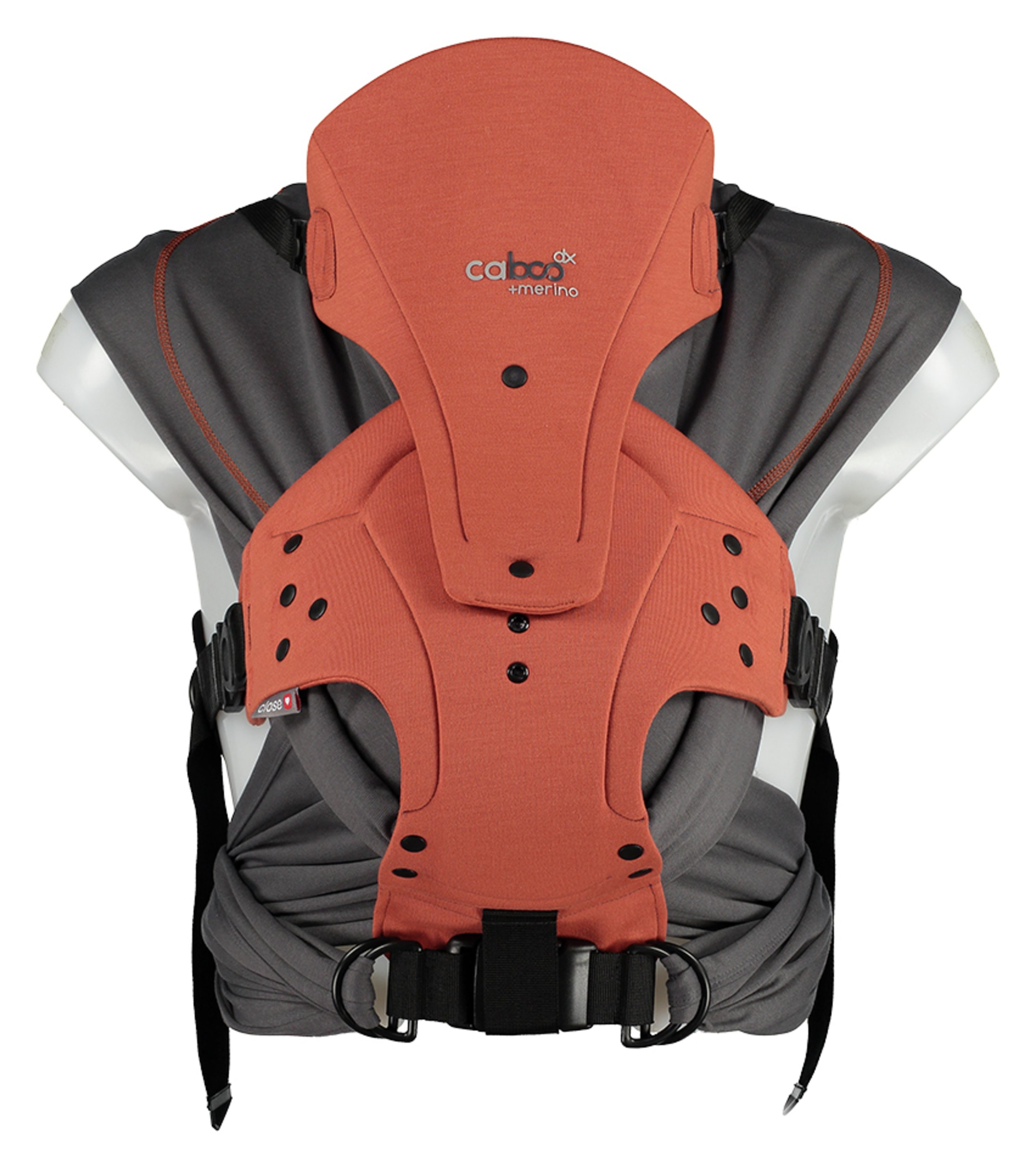 Image of Caboo DXGO Baby Carrier - Merino