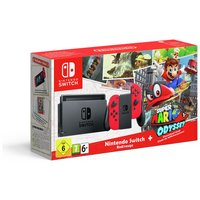 Nintendo Switch Console Bundle with Super Mario Odyssey