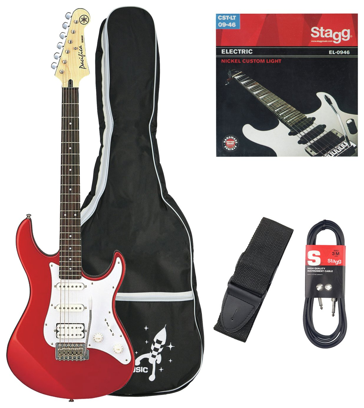 Yamaha Pacifica Electric Guitar - Red