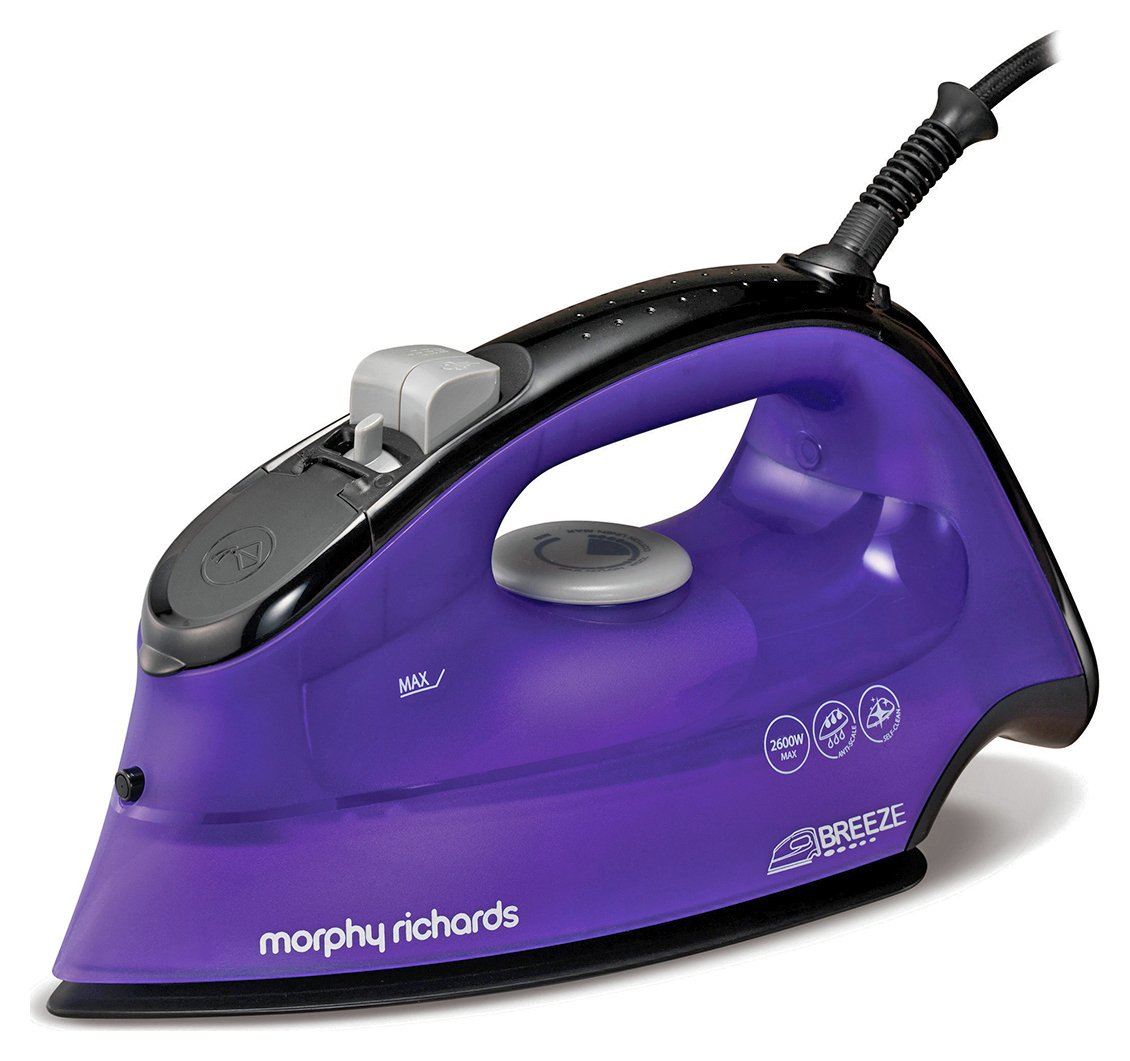 morphy richards 300253 breeze steam iron 7501636 argos. Black Bedroom Furniture Sets. Home Design Ideas