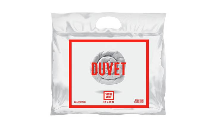 Argos Home 10.5 Tog Duvet and Pillow Set - Single