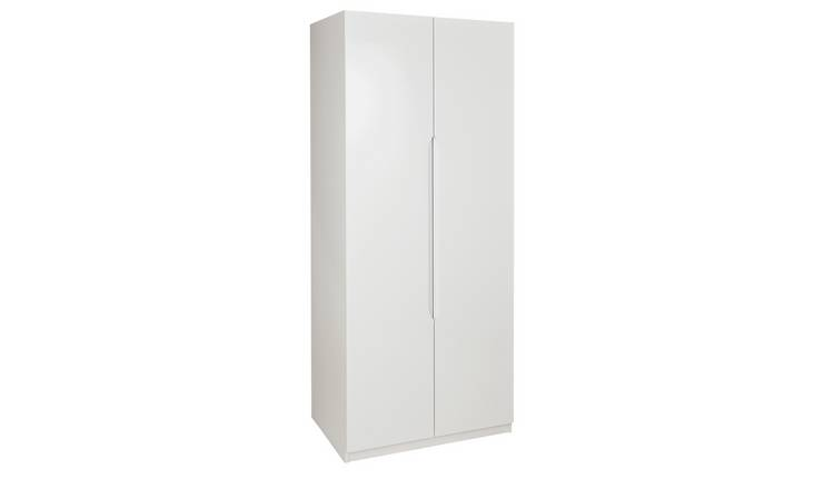 Legato 2 Door Wardrobe - White Gloss