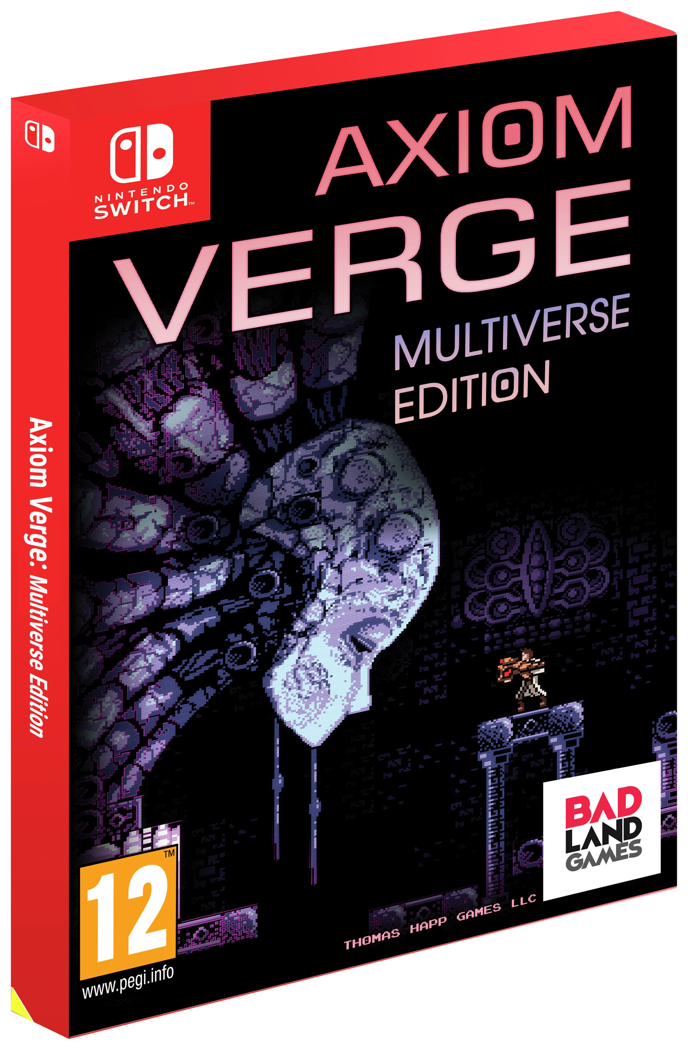 Image of Axiom Verge: Multiverse Edition Nintendo Switch Pre-Order
