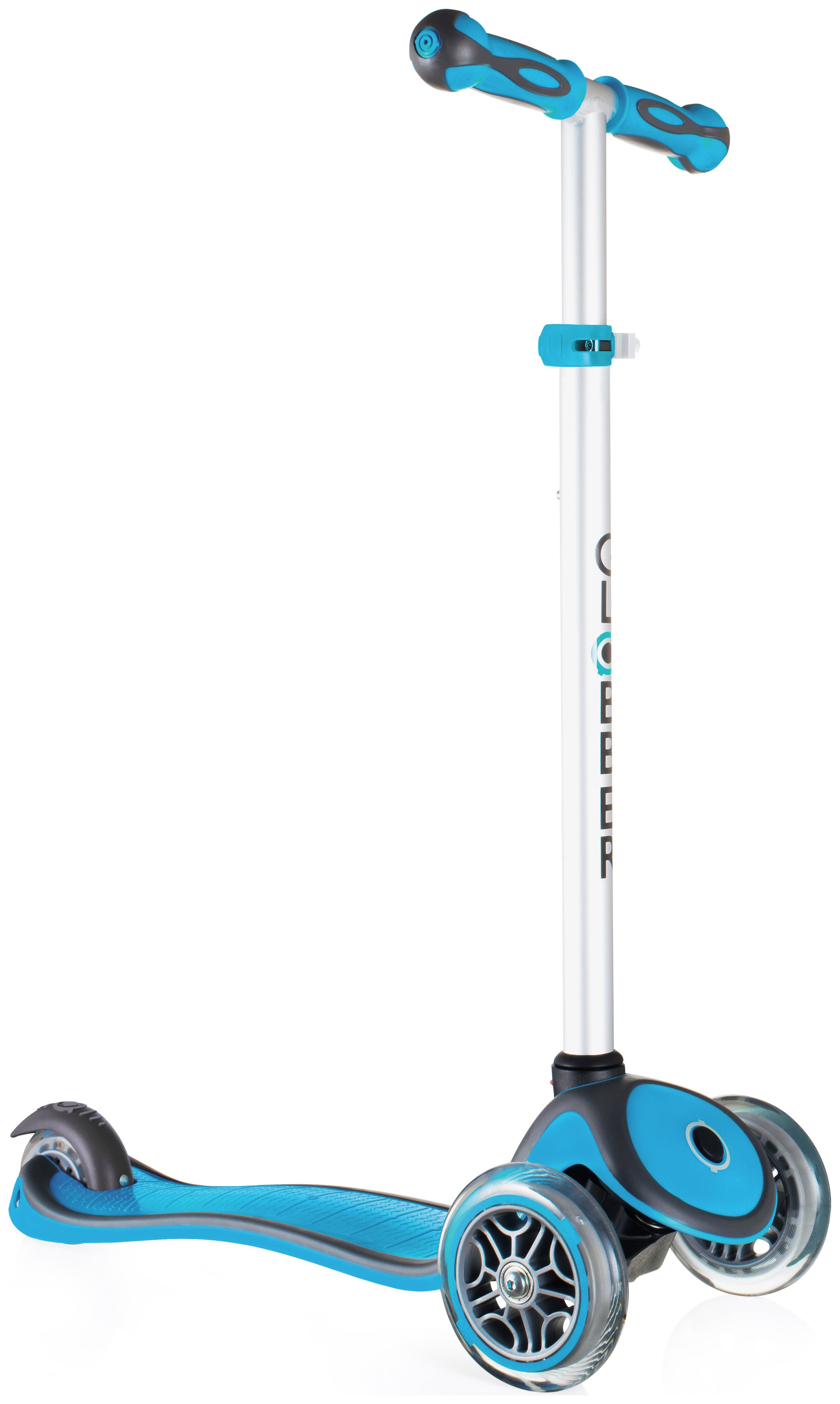 Globber Primo Plus 3 Wheel Scooter - Sky Blue