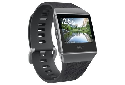 Fitbit Ionic Smartwatch - Charcoal Grey