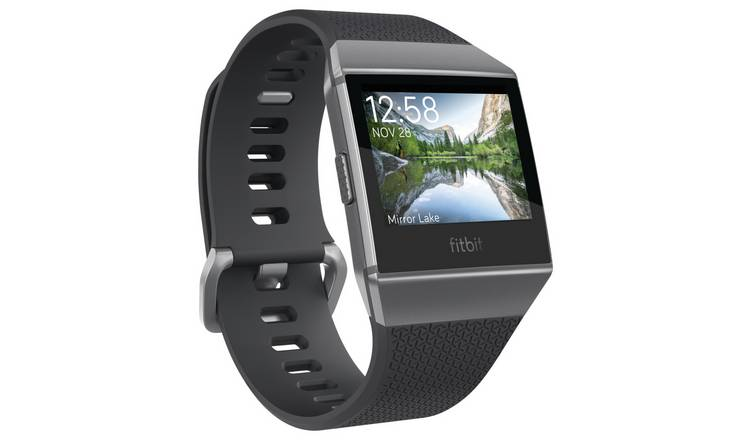 75f94c29a Buy Fitbit Ionic Smart Watch - Charcoal Grey | Smart watches | Argos