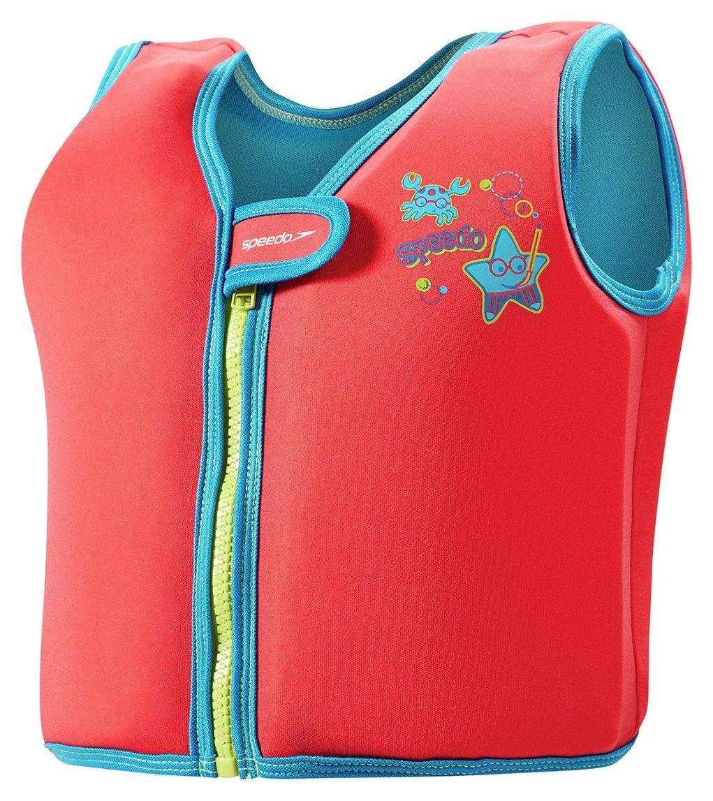 Speedo Red Swim Jacket - 2-4 Years