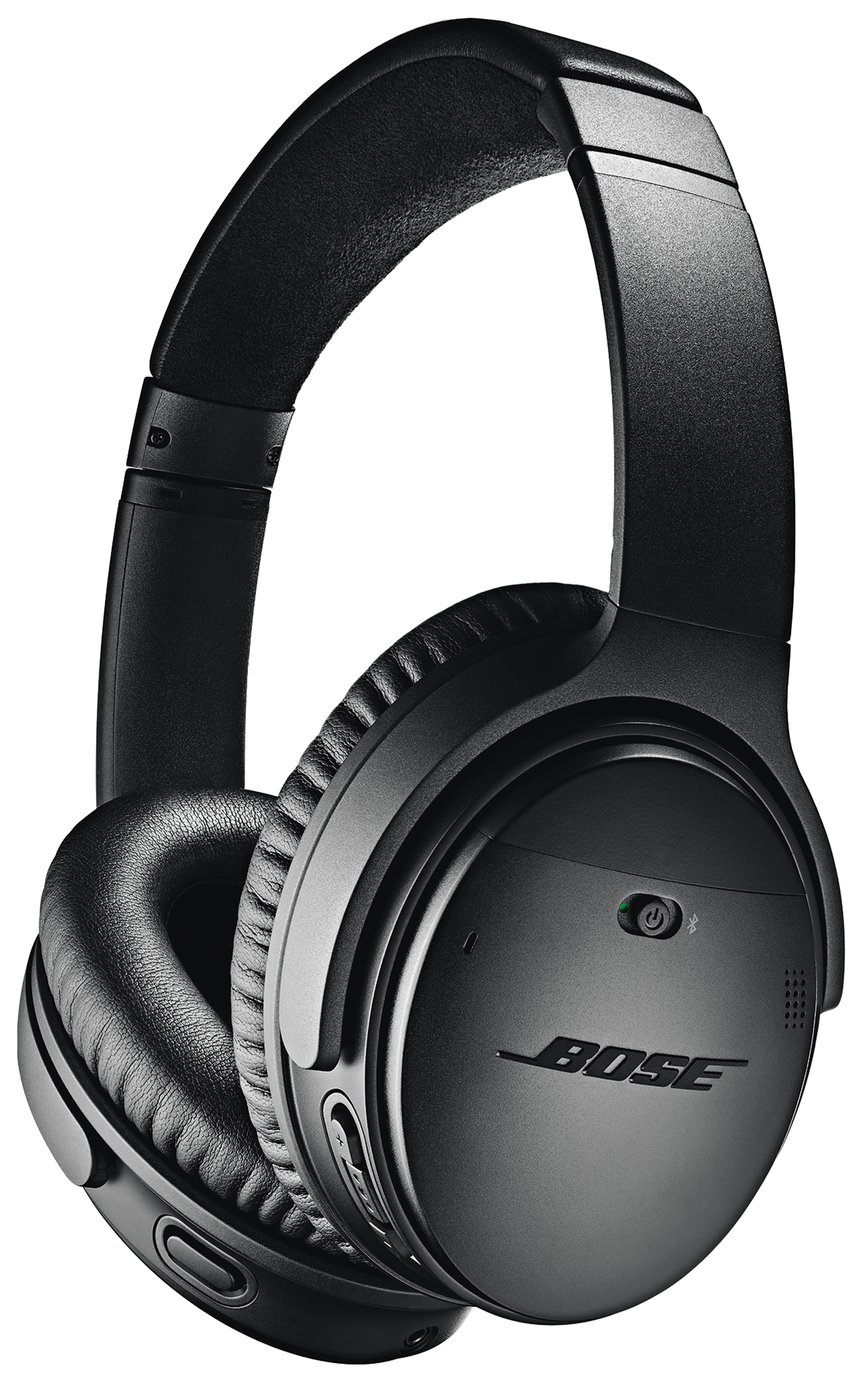 Bose QuietComfort QC35 II Over-Ear Headphones - Black