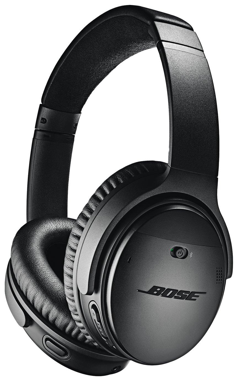Image of Bose QuietComfort QC35 II Over-Ear Headphones - Black