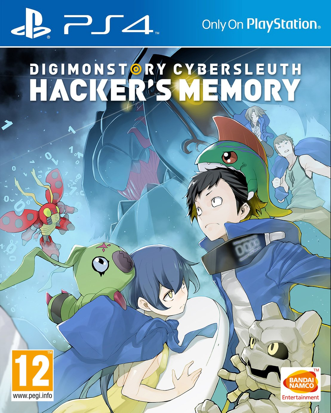 Image of Digimon Cyber Sleuth Hackers PS4 Game