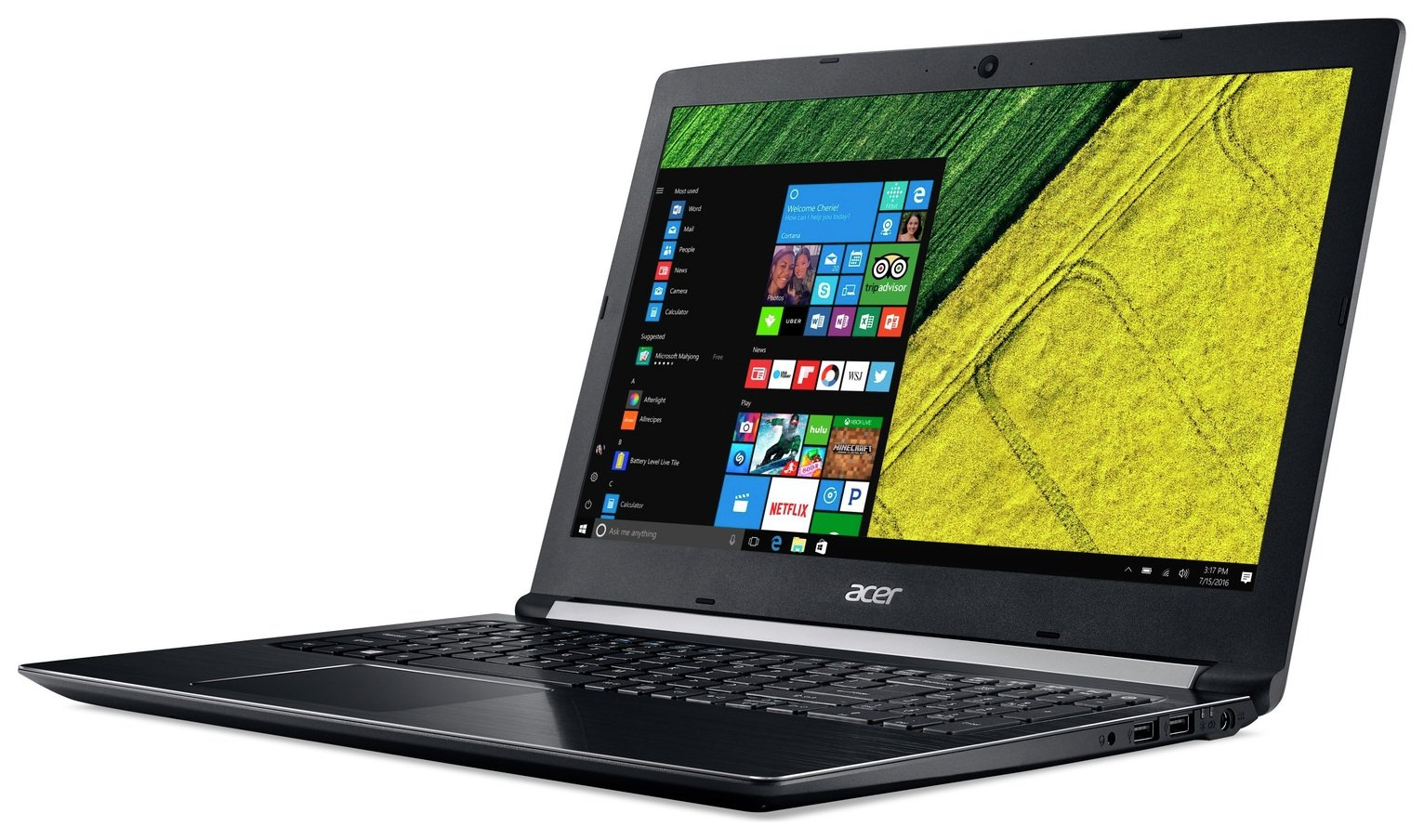 Image of Acer 15.6 Inch i5 8GB 256GB Laptop - Black