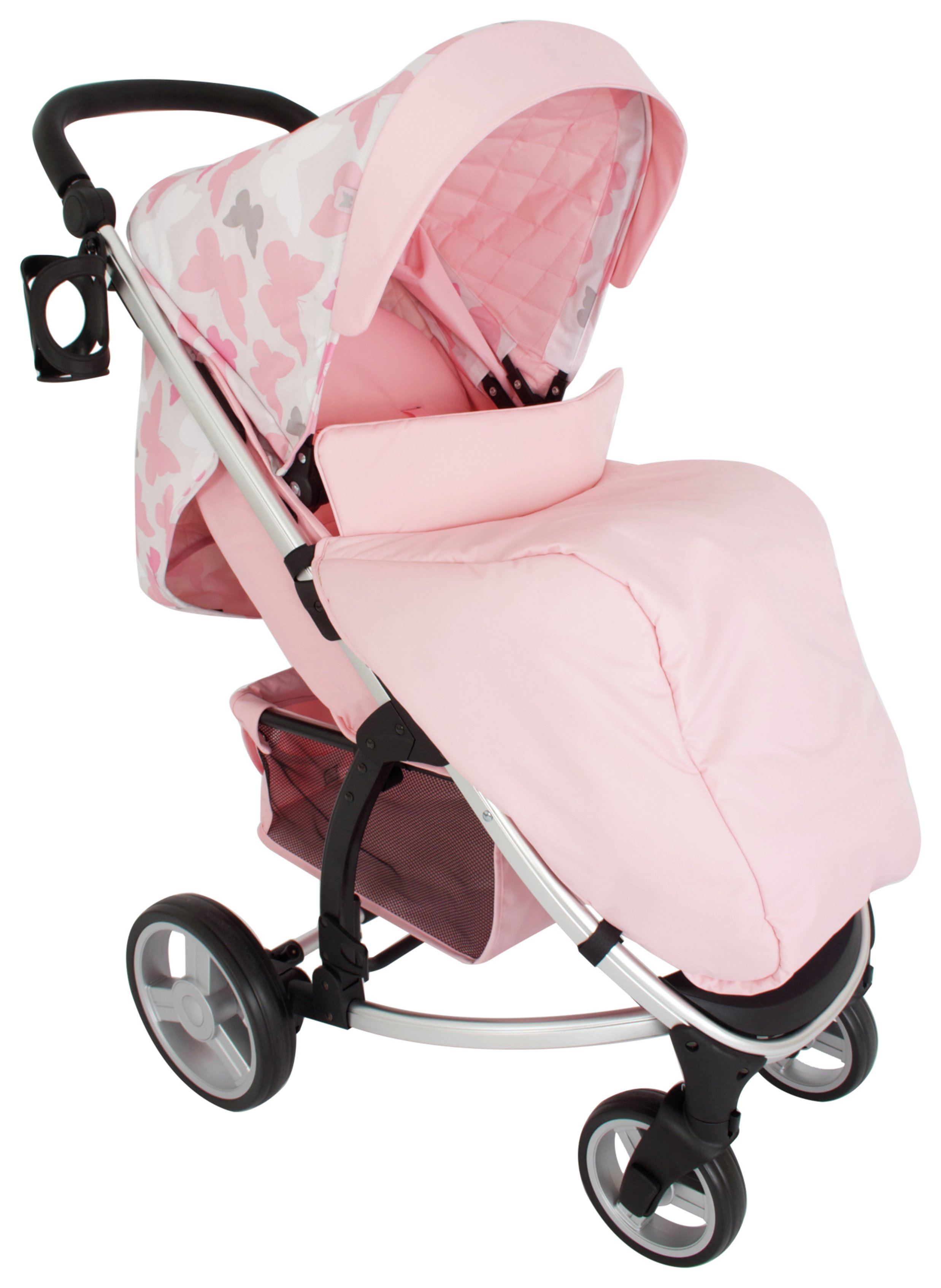 My Babiie MB200 KP Pushchair - Pink Butterlies