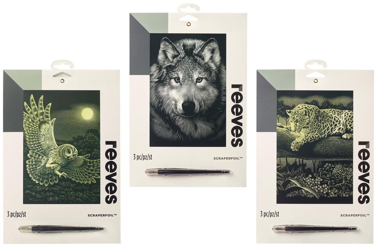 Reeves Scraperfoil - 3 Pack