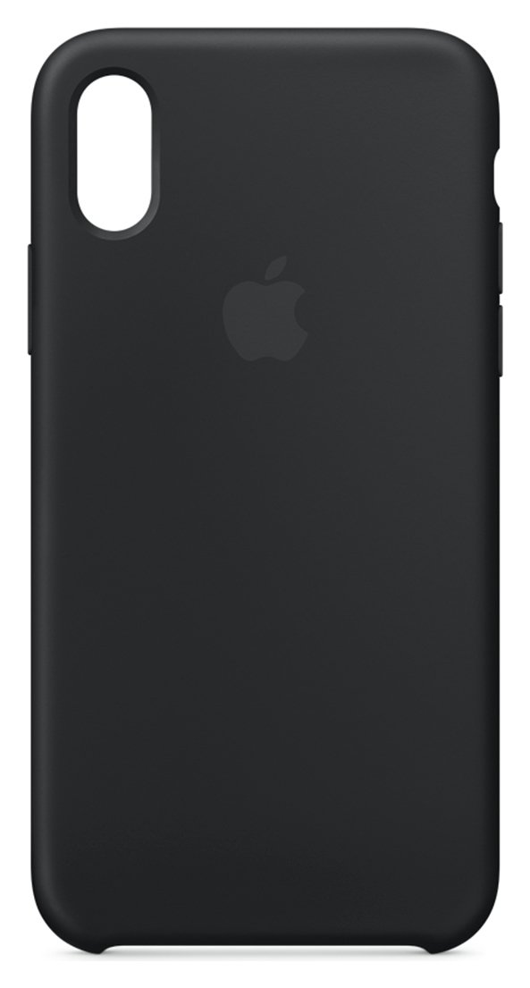 Apple iPhone X Silicone Case Black cheapest retail price