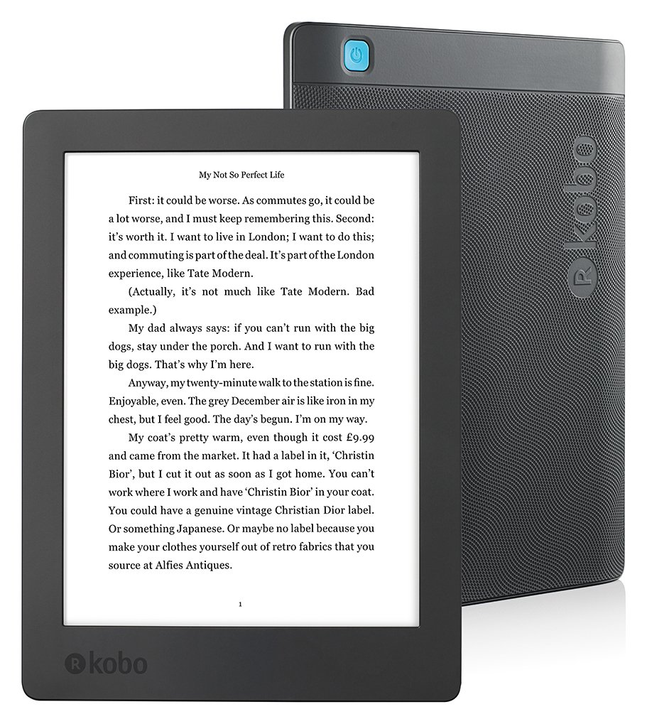 Kobo New Aura H20 E-Reader
